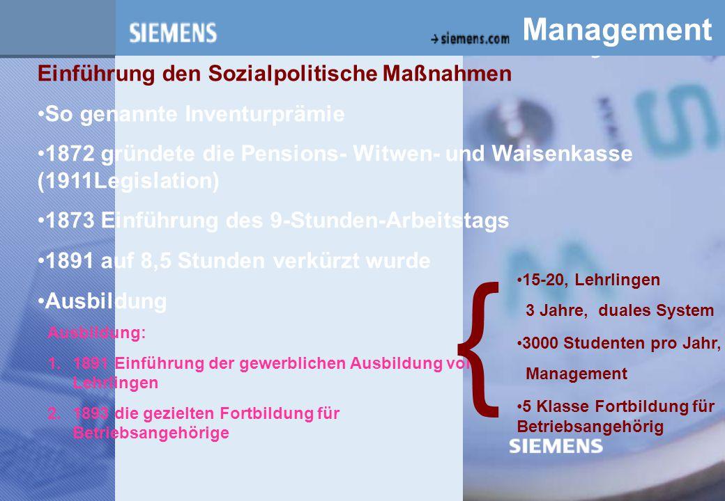 { z Management Einführung den Sozialpolitische Maßnahmen