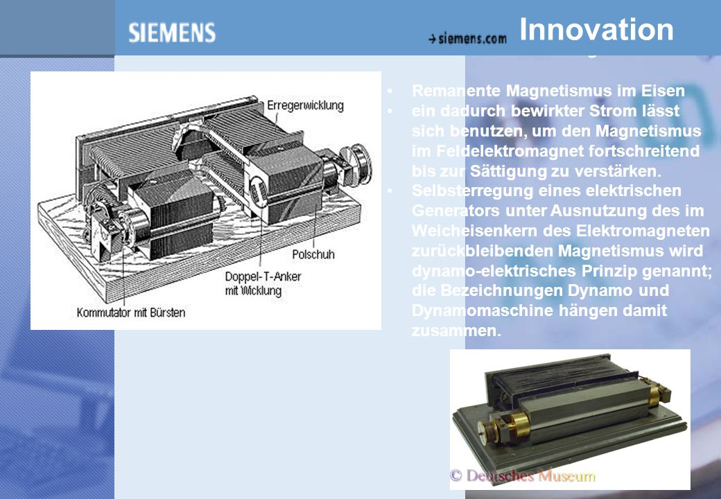 z Innovation Remanente Magnetismus im Eisen