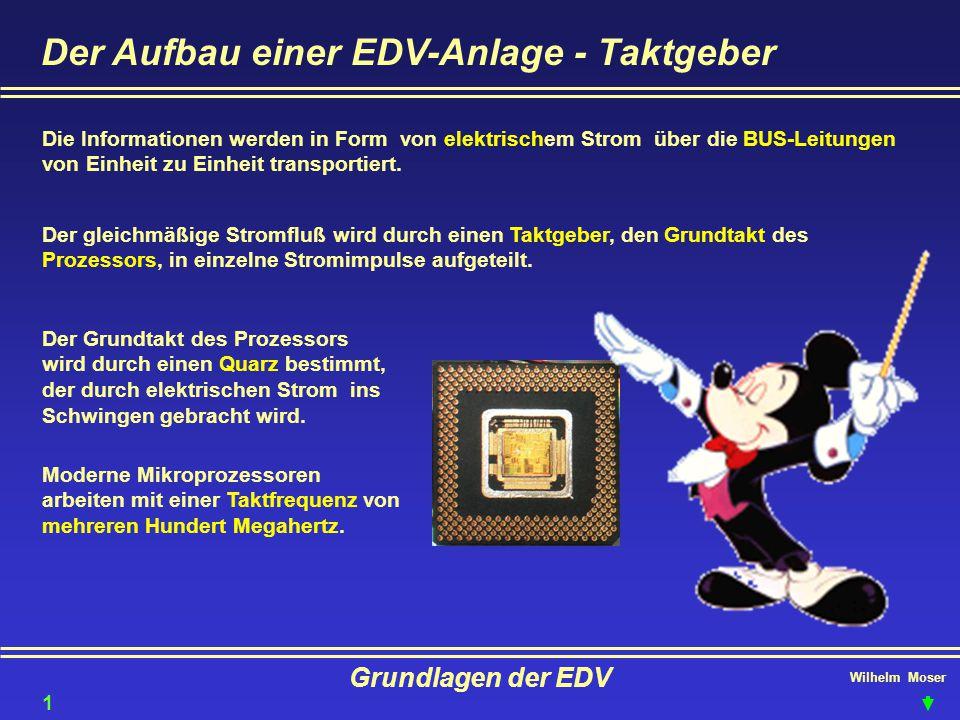 Der Aufbau einer EDV-Anlage - Taktgeber