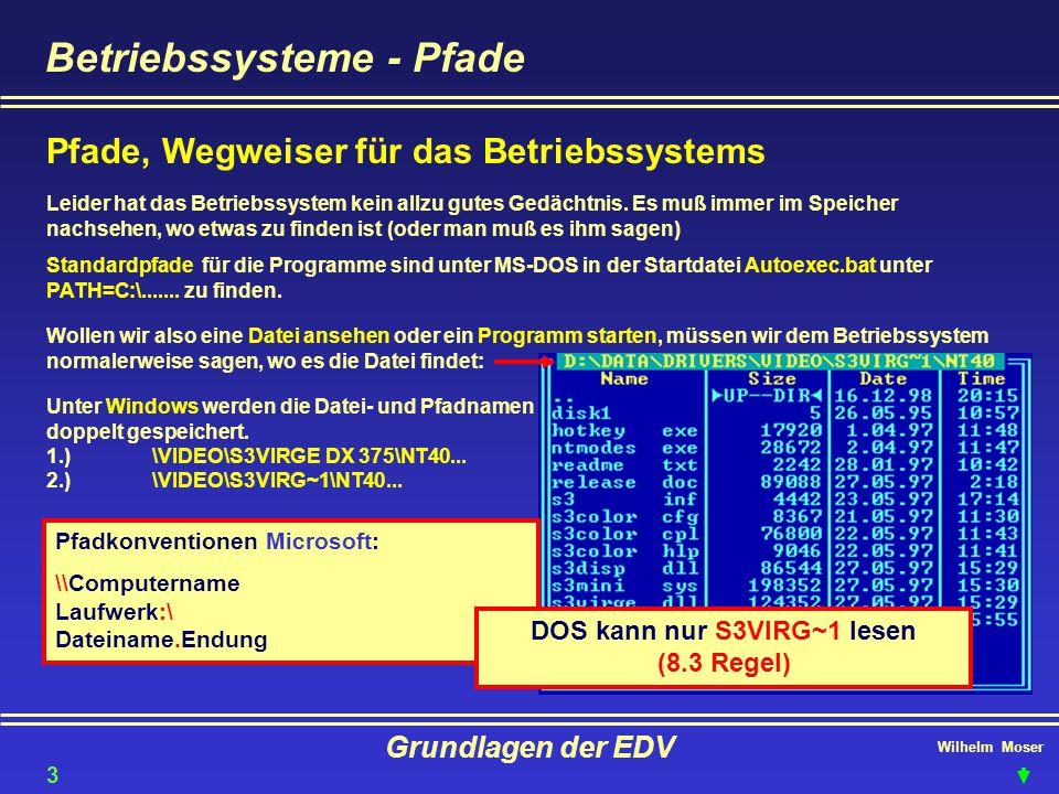 DOS kann nur S3VIRG~1 lesen (8.3 Regel)