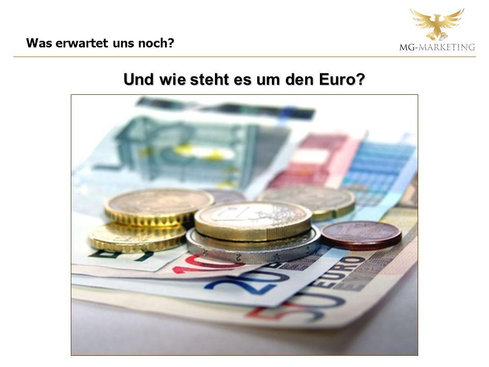 Und wie steht es um den Euro