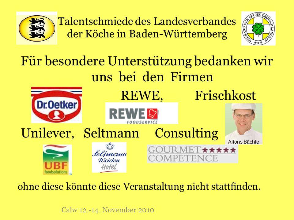 Talentschmiede des Landesverbandes der Köche in Baden-Württemberg