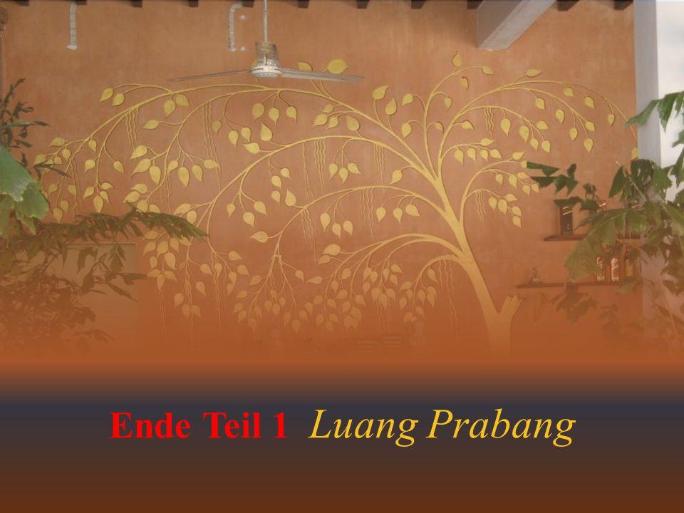 Ende Teil 1 Luang Prabang