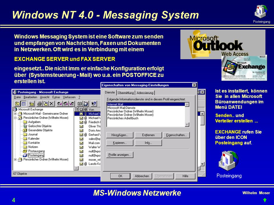 Windows NT 4.0 - Messaging System