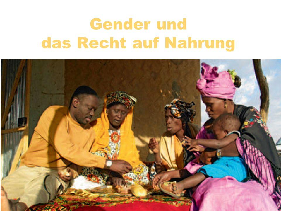 Gender und das Recht auf Nahrung