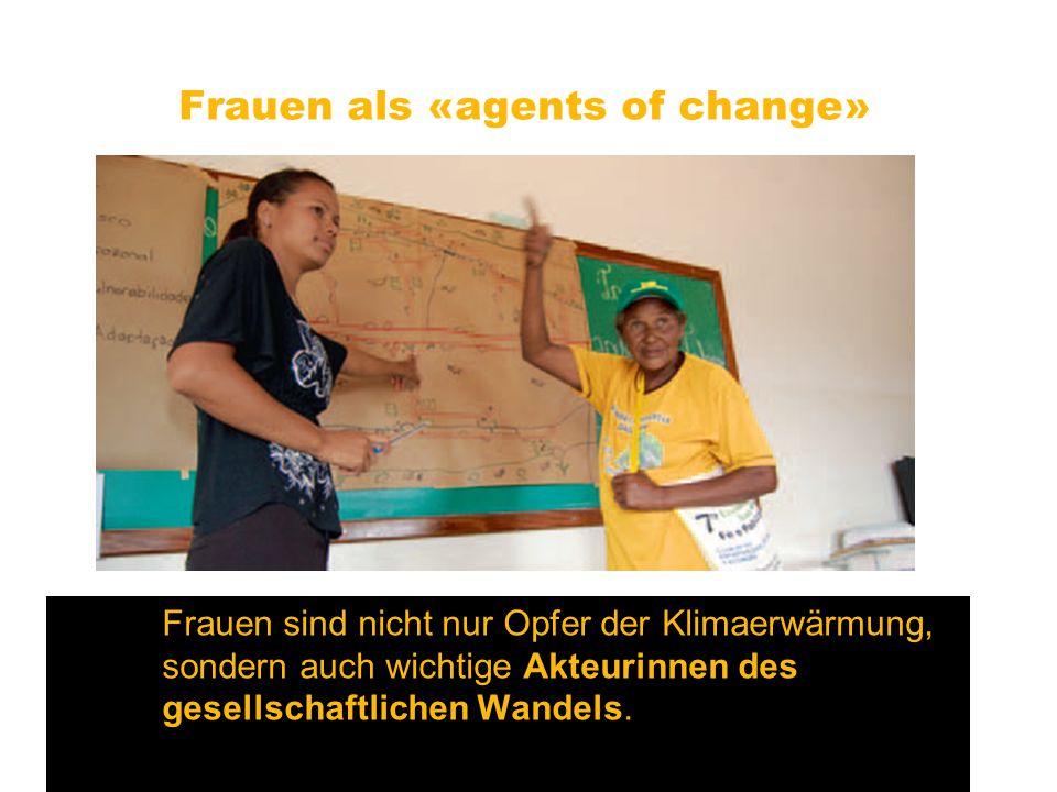 Frauen als «agents of change»