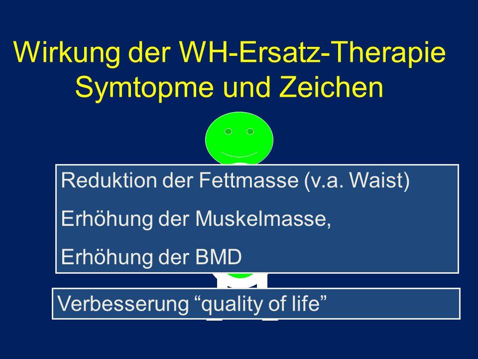 Wirkung der WH-Ersatz-Therapie