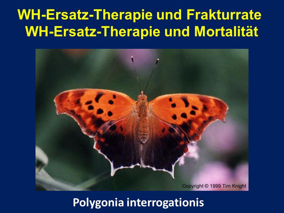 WH-Ersatz-Therapie und Frakturrate WH-Ersatz-Therapie und Mortalität