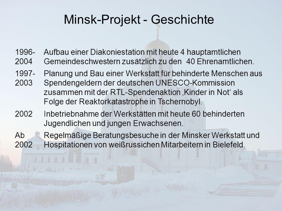 Minsk-Projekt - Geschichte