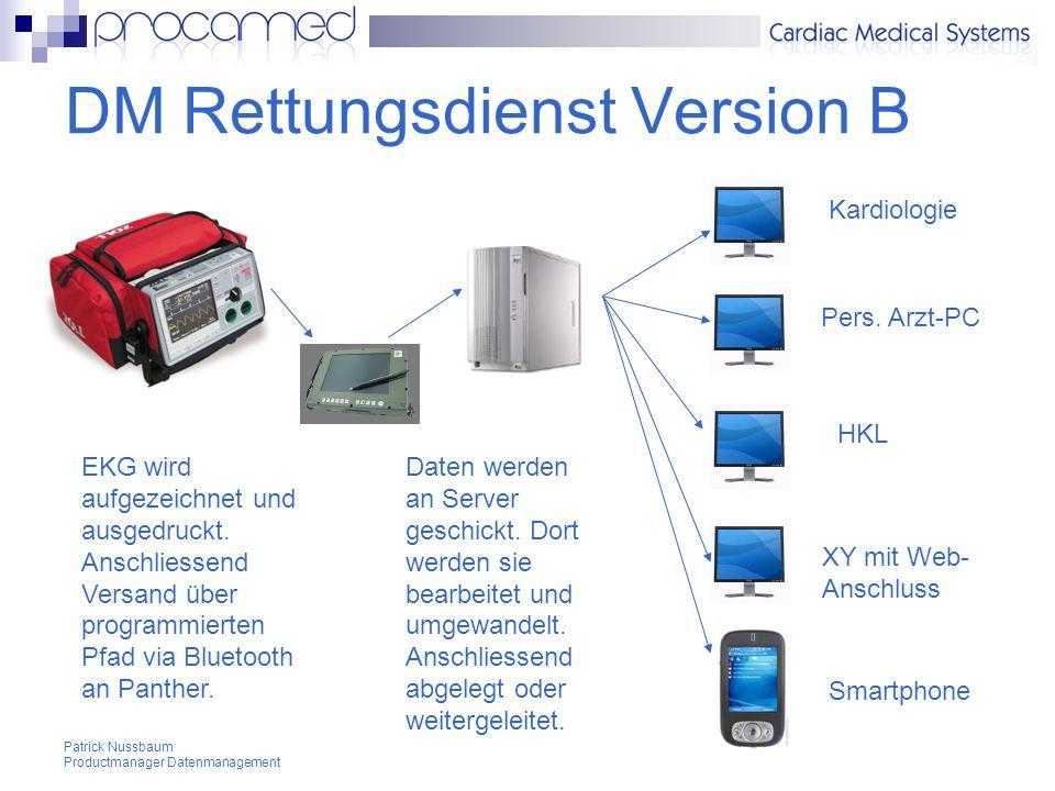 DM Rettungsdienst Version B