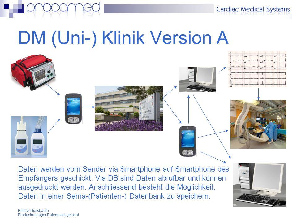 DM (Uni-) Klinik Version A