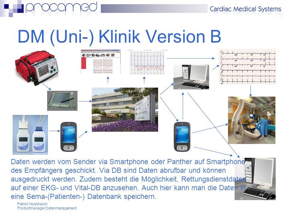 DM (Uni-) Klinik Version B