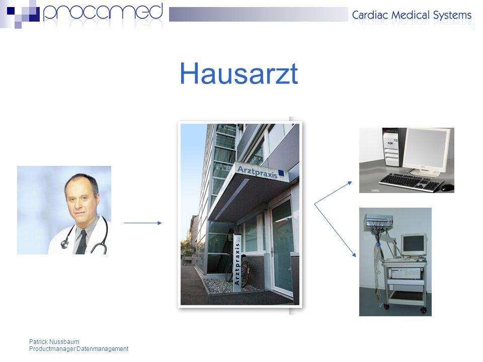 Hausarzt Patrick Nussbaum Productmanager Datenmanagement