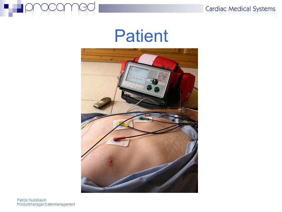 Patient Patrick Nussbaum Productmanager Datenmanagement