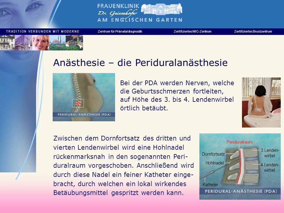 Anästhesie – die Periduralanästhesie
