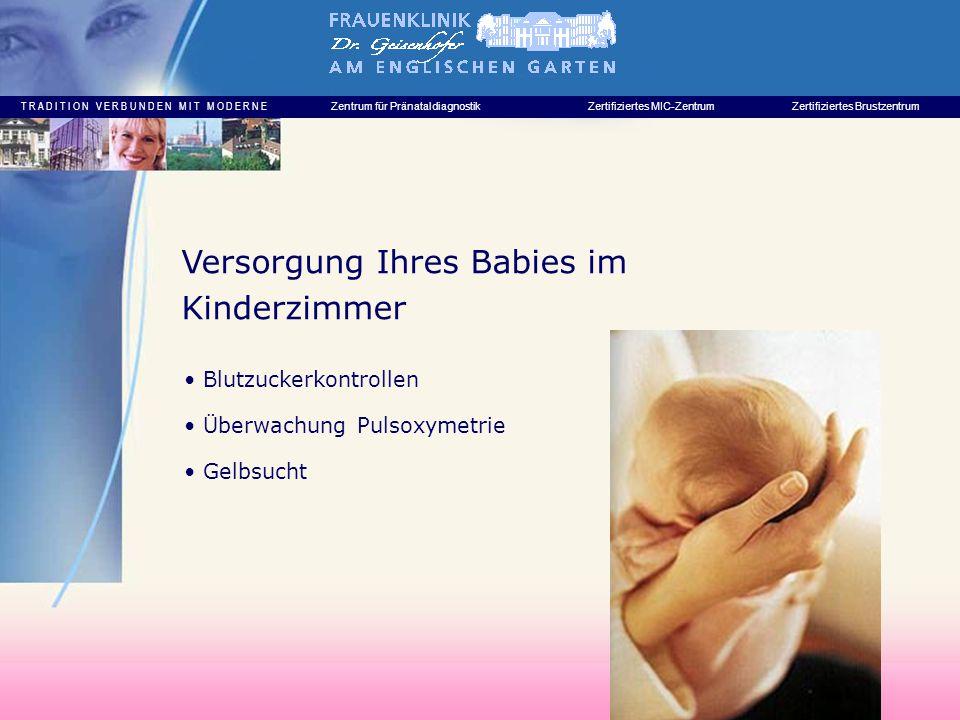Versorgung Ihres Babies im Kinderzimmer