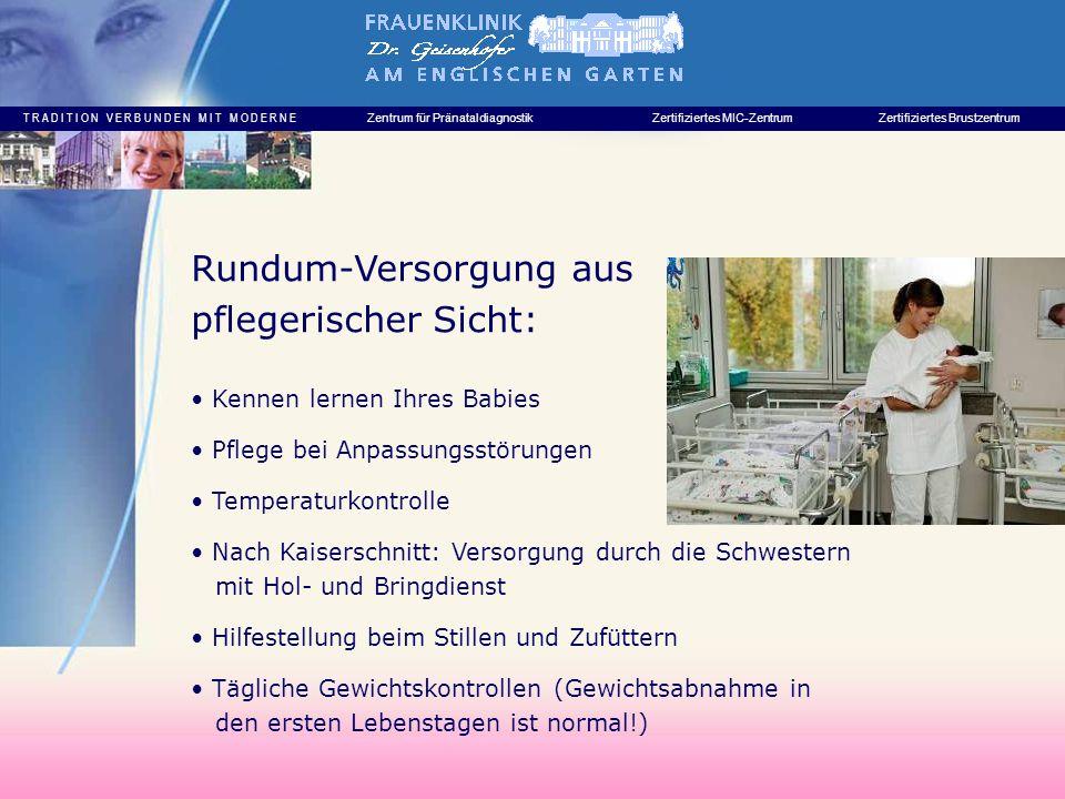 Rundum-Versorgung aus pflegerischer Sicht: