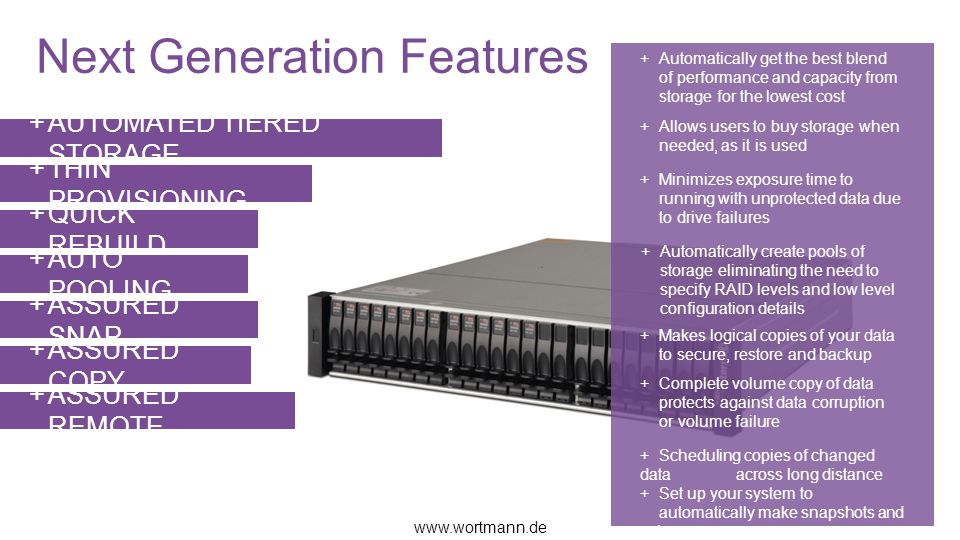 Next Generation Features