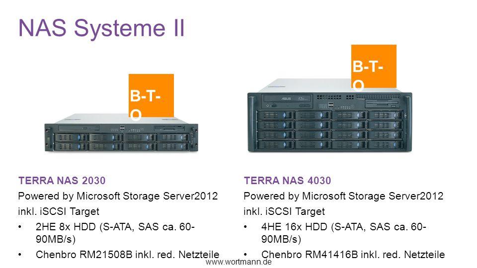 NAS Systeme II B-T-O B-T-O TERRA NAS 2030