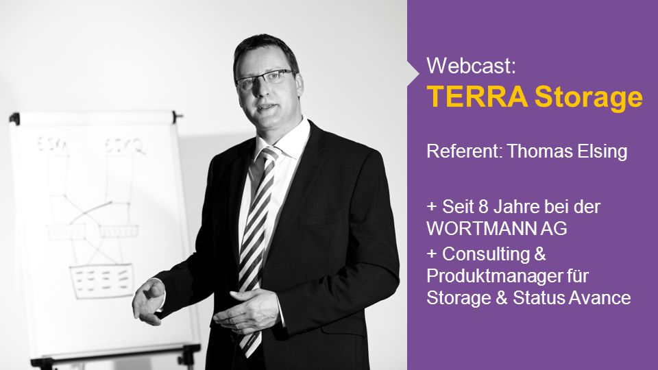 Webcast: TERRA Storage Referent: Thomas Elsing