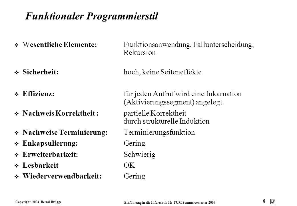 Funktionaler Programmierstil