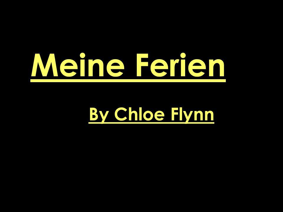 Meine Ferien By Chloe Flynn