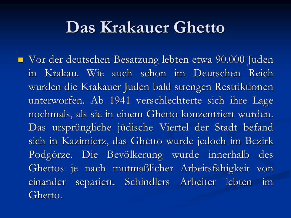 Das Krakauer Ghetto