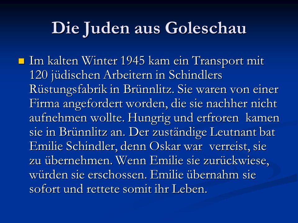 Die Juden aus Goleschau