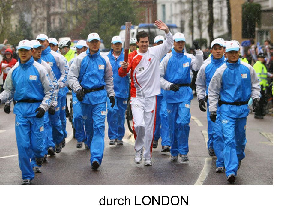 durch LONDON