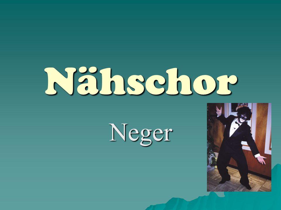 Nähschor Neger