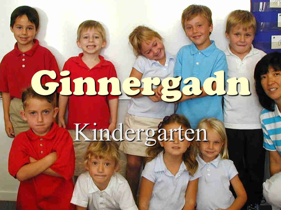 Ginnergadn Kindergarten