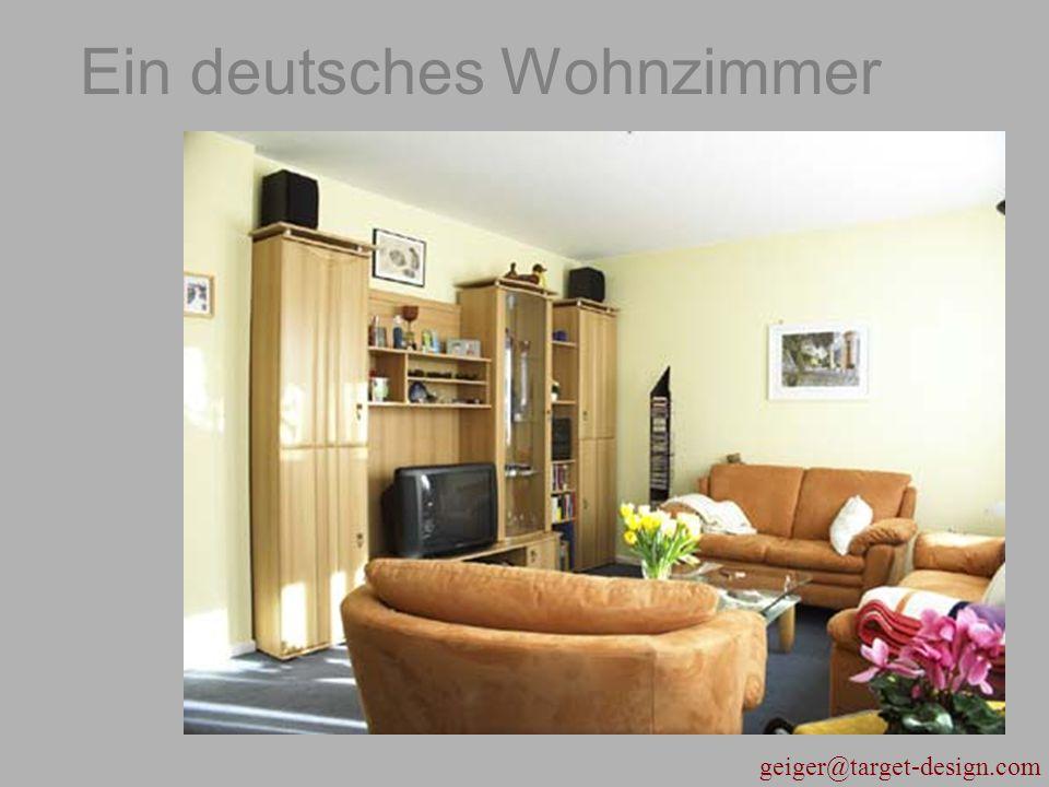 Ein deutsches Wohnzimmer