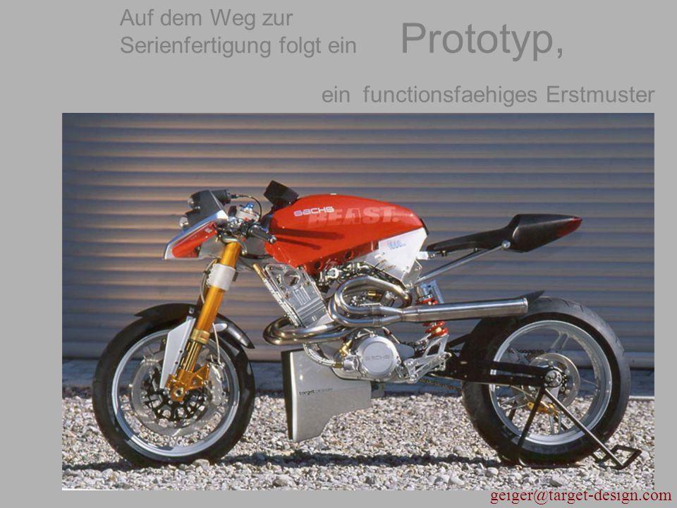 Prototyp, ein functionsfaehiges Erstmuster