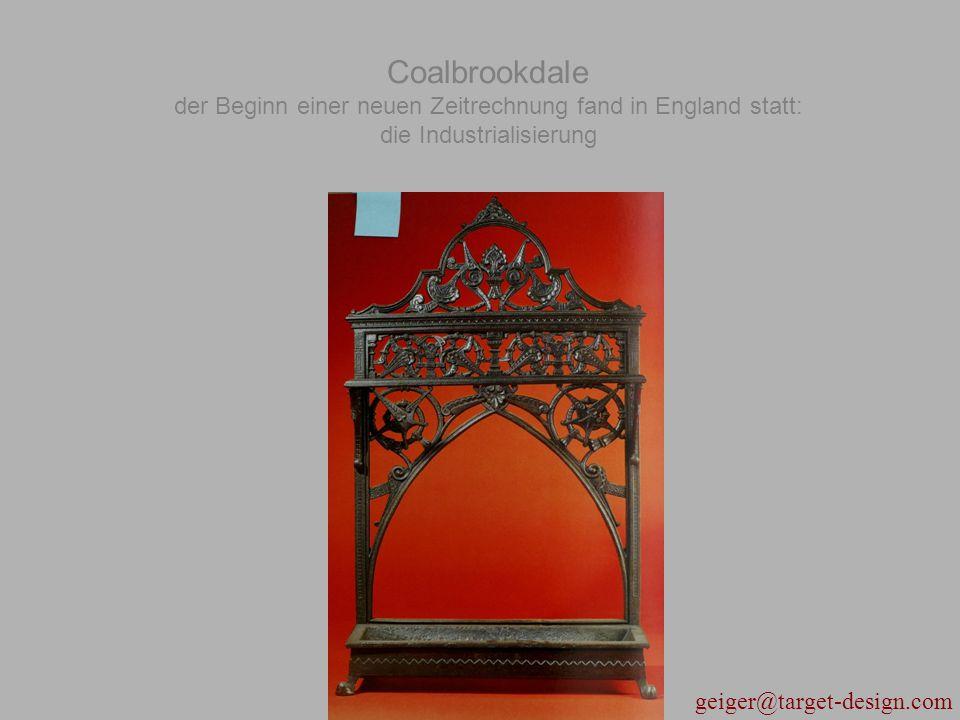 Coalbrookdale der Beginn einer neuen Zeitrechnung fand in England statt: die Industrialisierung