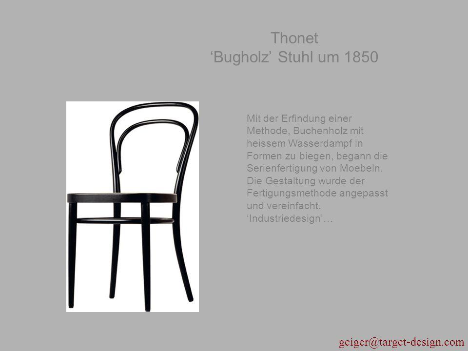 Thonet 'Bugholz' Stuhl um 1850
