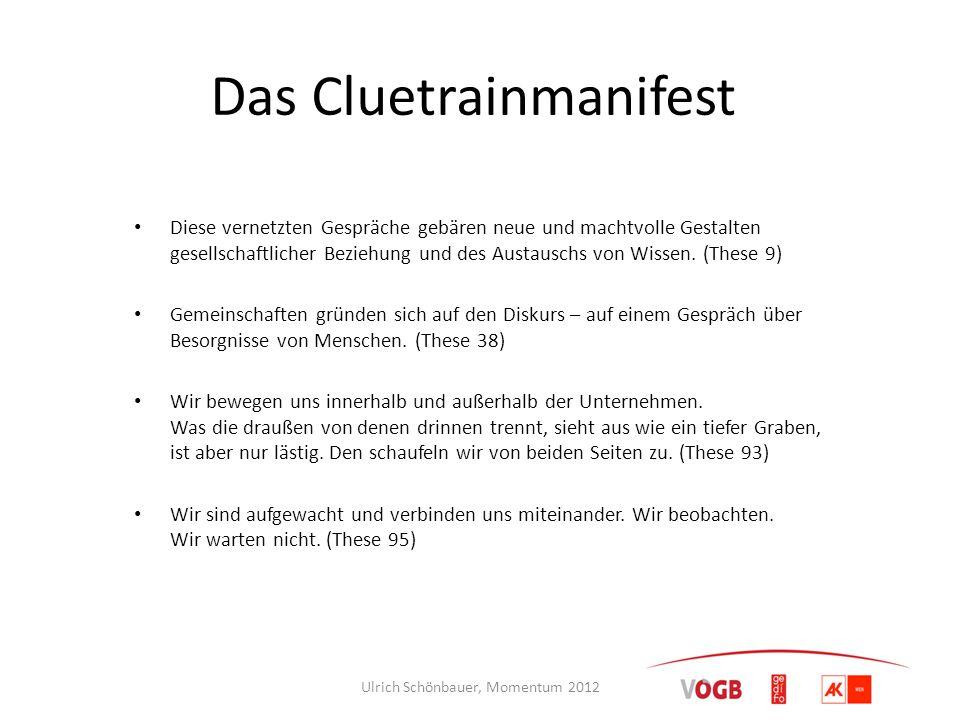 Das Cluetrainmanifest