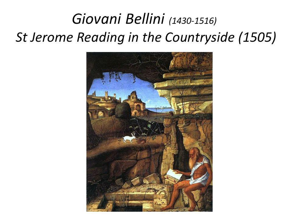 Giovani Bellini (1430-1516) St Jerome Reading in the Countryside (1505)