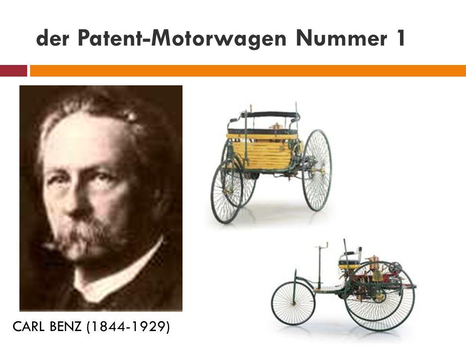 der Patent-Motorwagen Nummer 1