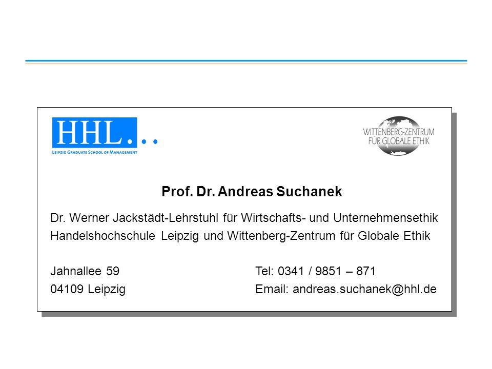 Prof. Dr. Andreas Suchanek