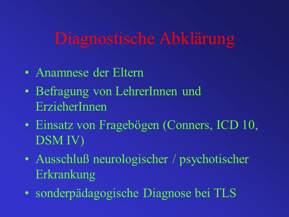 Diagnostische Abklärung