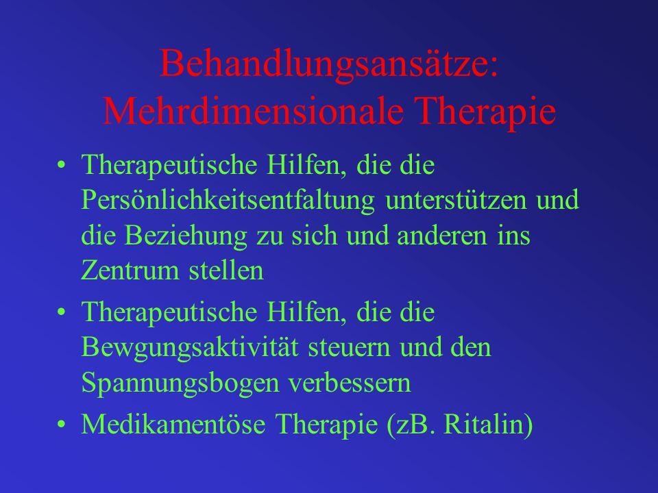 Behandlungsansätze: Mehrdimensionale Therapie