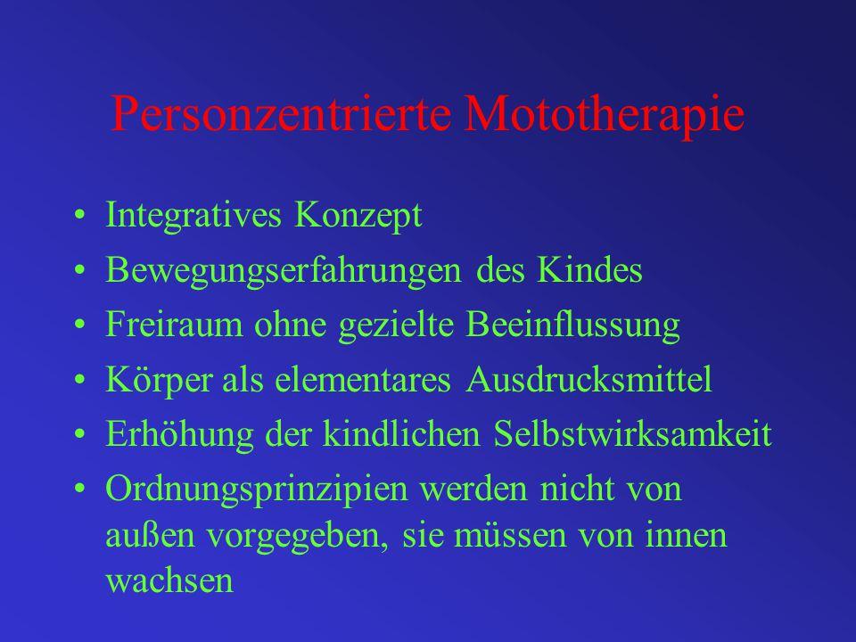 Personzentrierte Mototherapie
