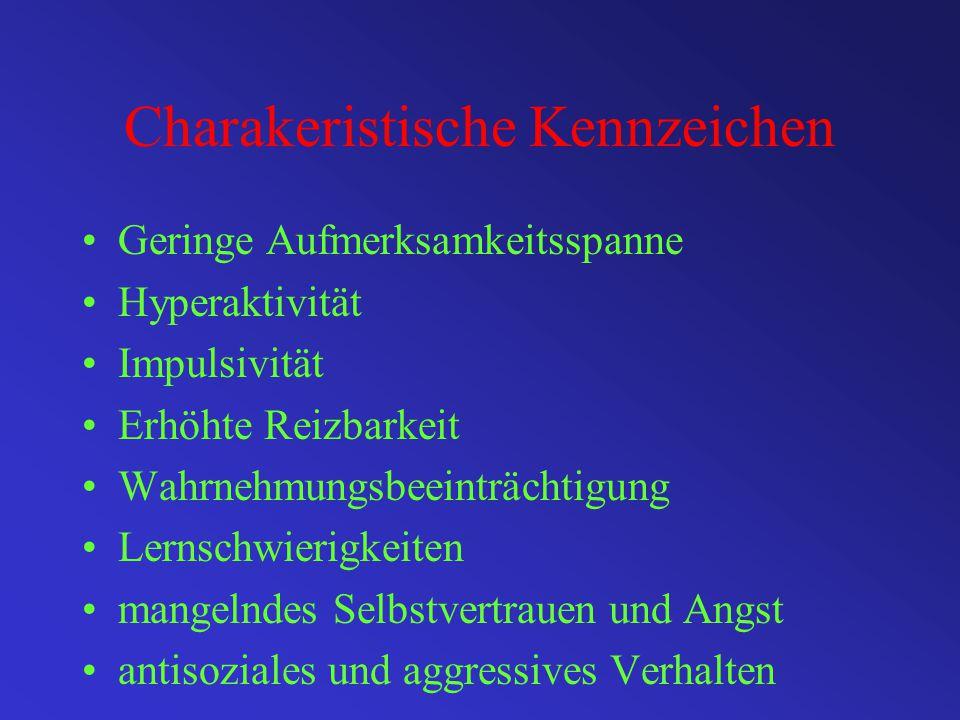 Charakeristische Kennzeichen