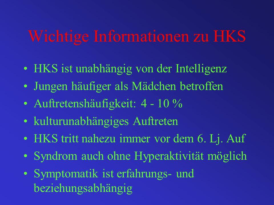 Wichtige Informationen zu HKS