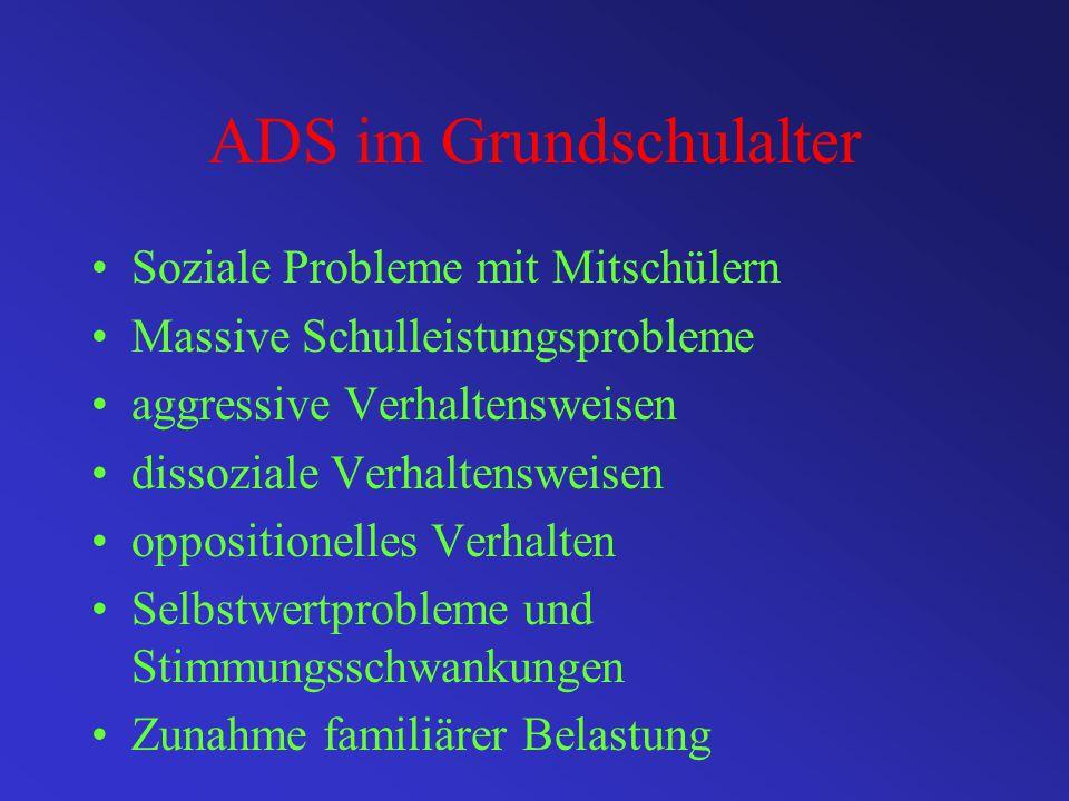 ADS im Grundschulalter