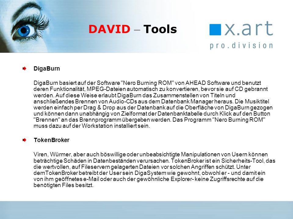 DAVID – Tools DigaBurn.