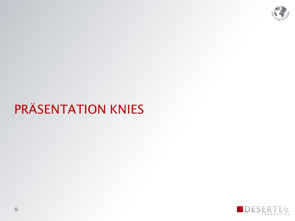 PRÄSENTATION KNIES