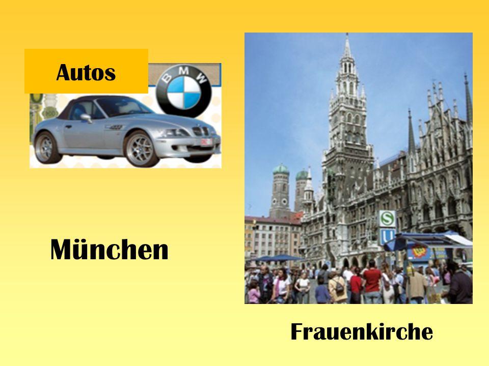 Autos München Frauenkirche