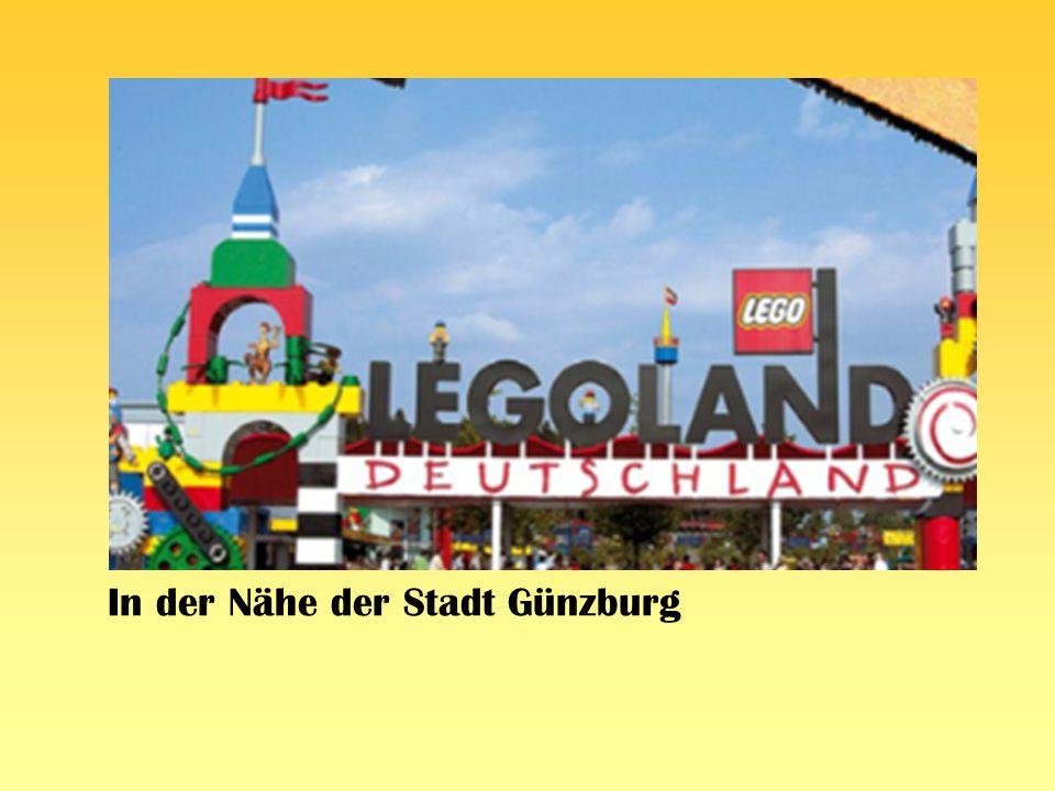 In der Nähe der Stadt Günzburg