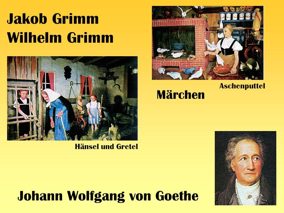 Jakob Grimm Wilhelm Grimm